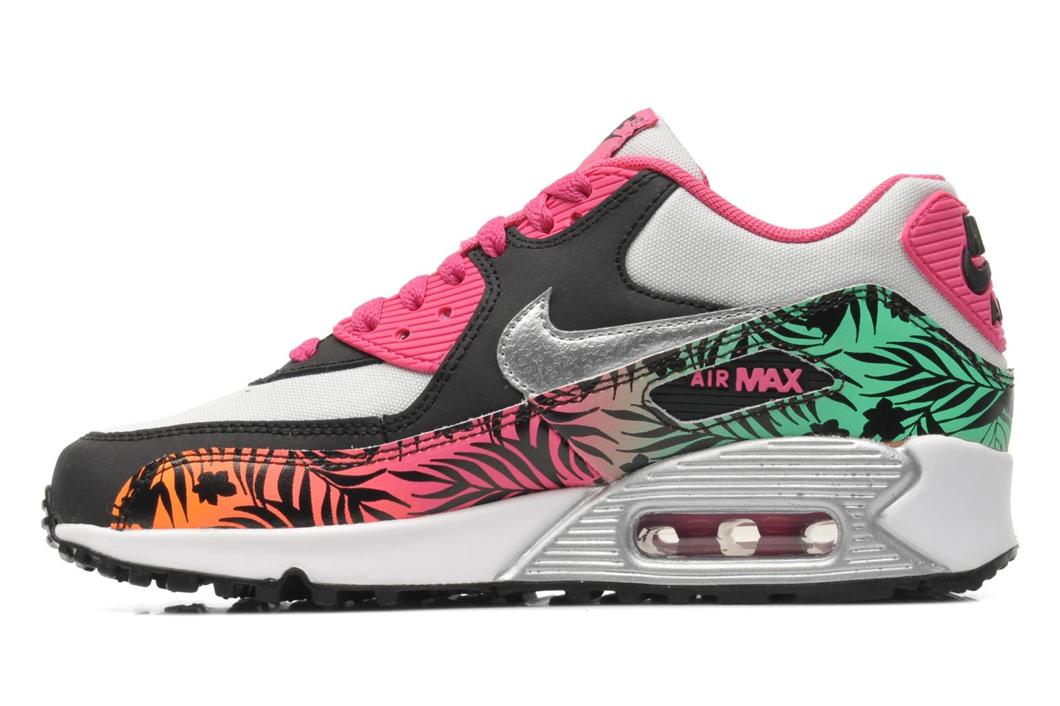 nike air max 90 print gs trainers in multicolor at. Black Bedroom Furniture Sets. Home Design Ideas