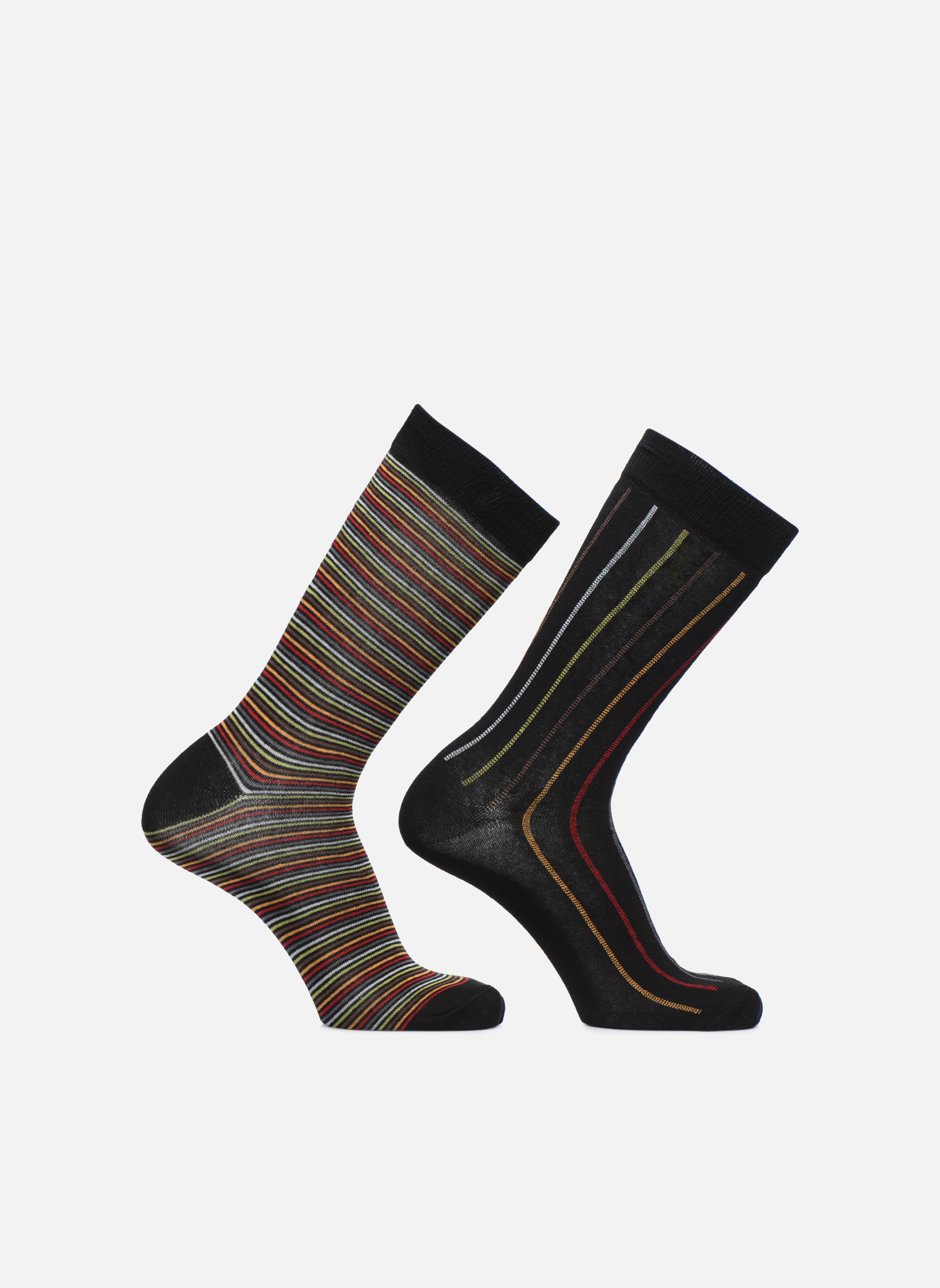 Sarenza Wear Calcetines Rayures Pack de 2