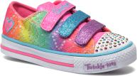 Skechers Shuffles- Rainbow Madness