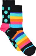 Happy Socks Chaussettes Big dot Enfant Coton Pack de 2