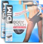Dim Collant BODY TOUCH TRANSPARENT Pack de 2