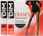 Dim Collant DIAMS VOILE GALBE Pack de 2