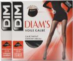 Dim Collant Diams Voile Galbé Pack de 2