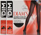 Dim Collant Diams Jambes fuselées semi-opaque Pack de 2