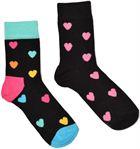 Happy Socks 2-Pack Heart Socks