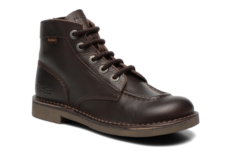 Chaussures à lacets KICKERS cuir marron 36 8dHlLNT - multiplier ... 411e86b4443f