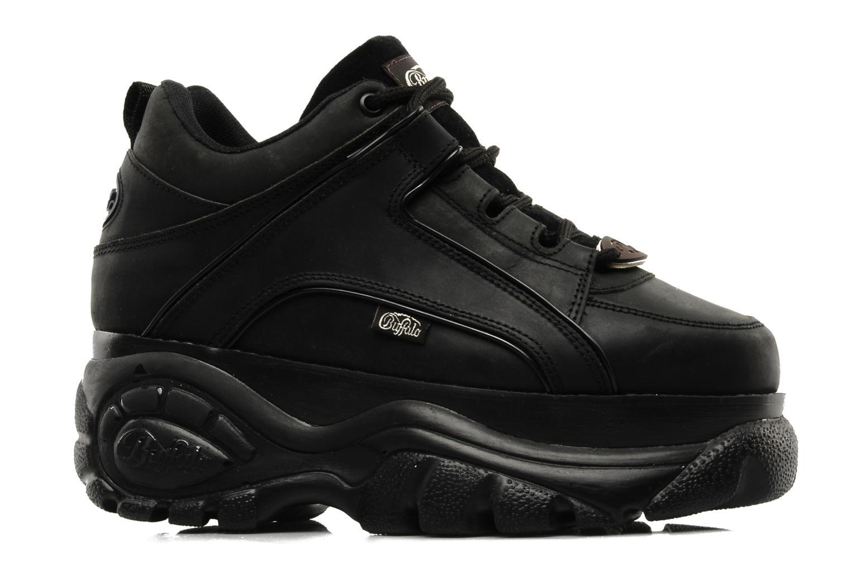 Sneaker Buffalo Texas Oil schwarz ansicht von hinten
