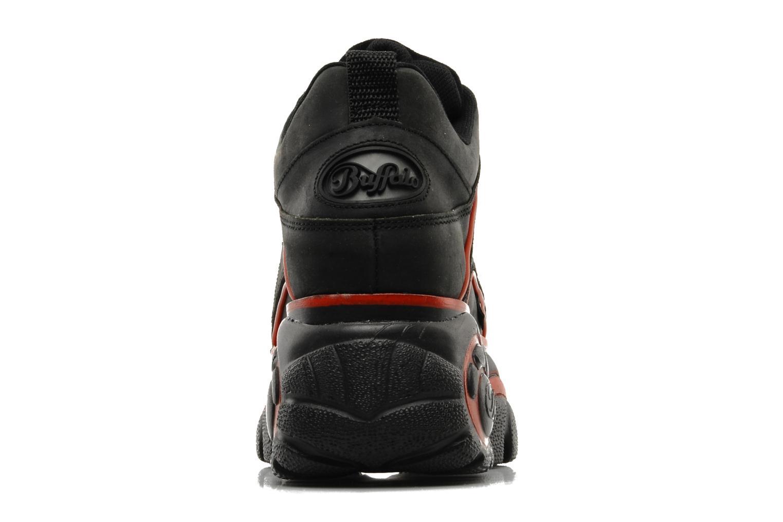 Sneaker Buffalo Texas Oil schwarz ansicht von rechts