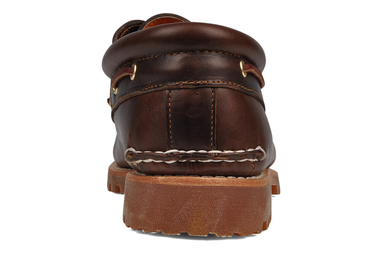 Chaussures à lacets Timberland Authentics FTM 3 Eye Classic Lug Marron vue droite