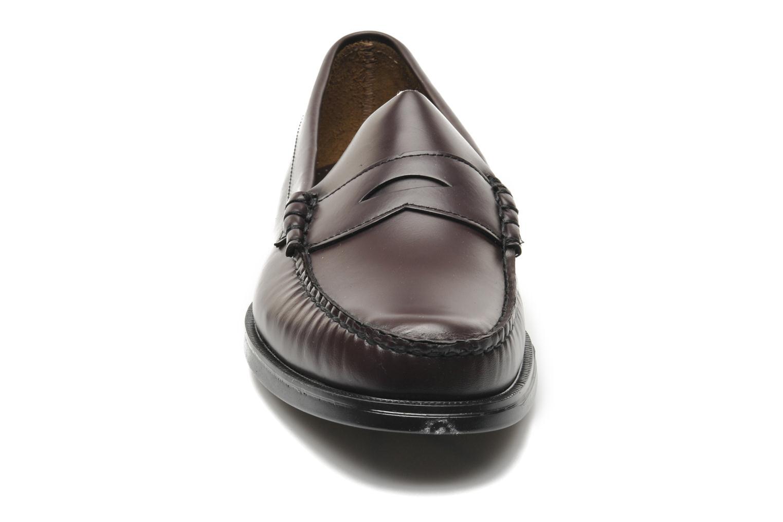 Loafers Sebago Grant Vinröd bild av skorna på