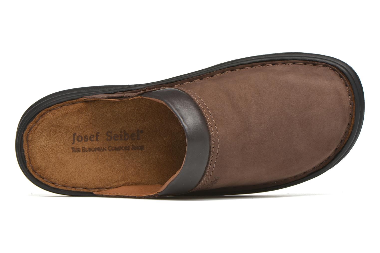 Sandales et nu-pieds Josef Seibel Max Marron vue gauche