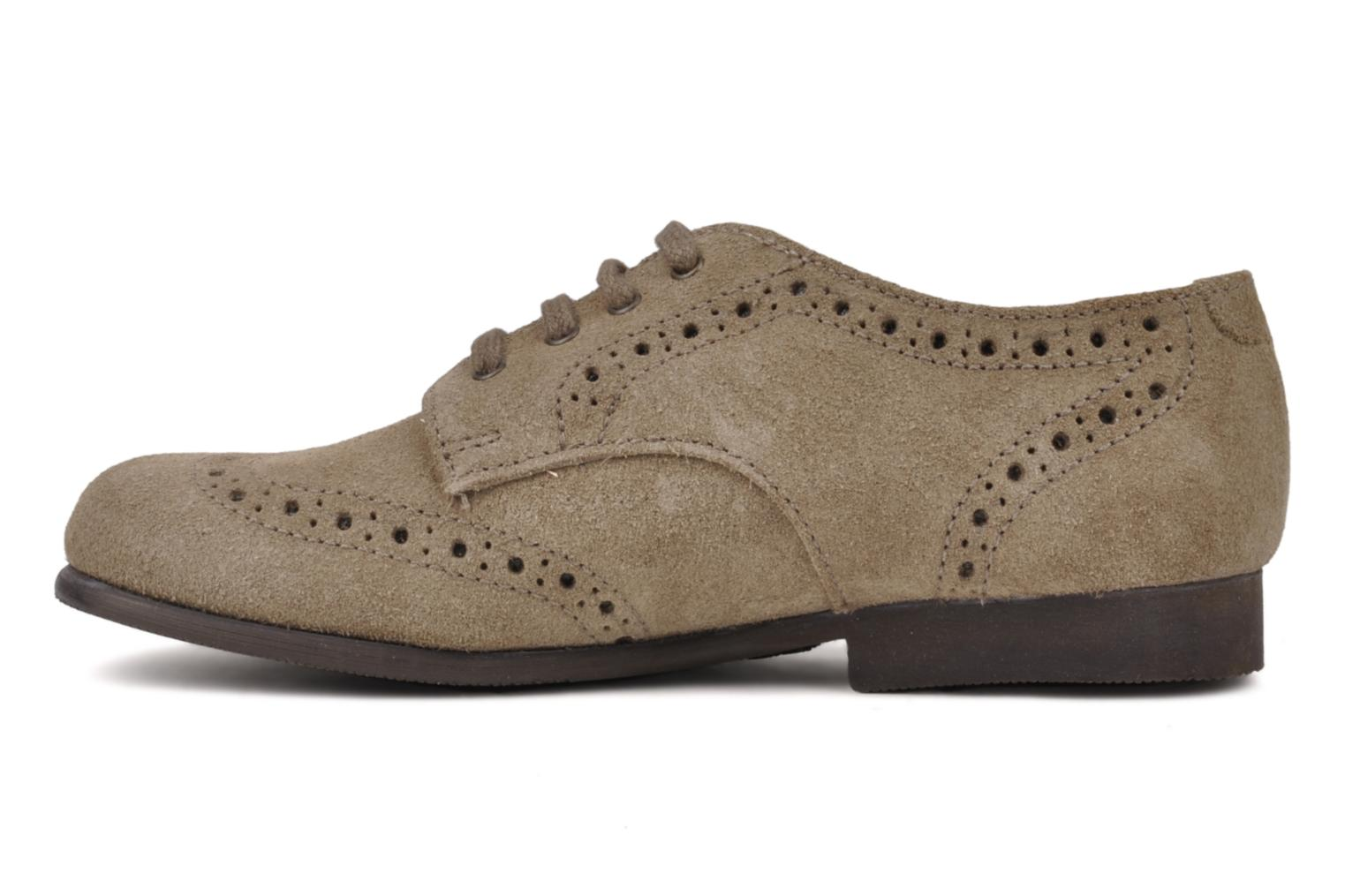 Chaussures à lacets Start Rite Charles Beige vue face