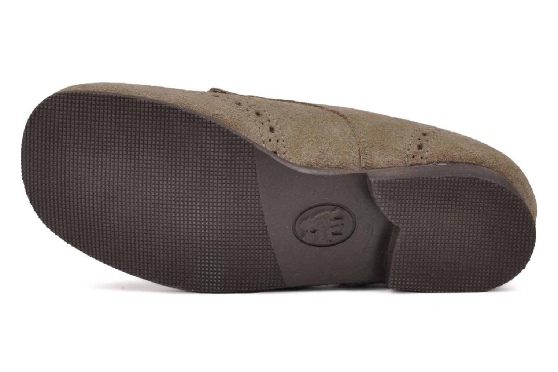 Chaussures à lacets Start Rite Charles Beige vue haut