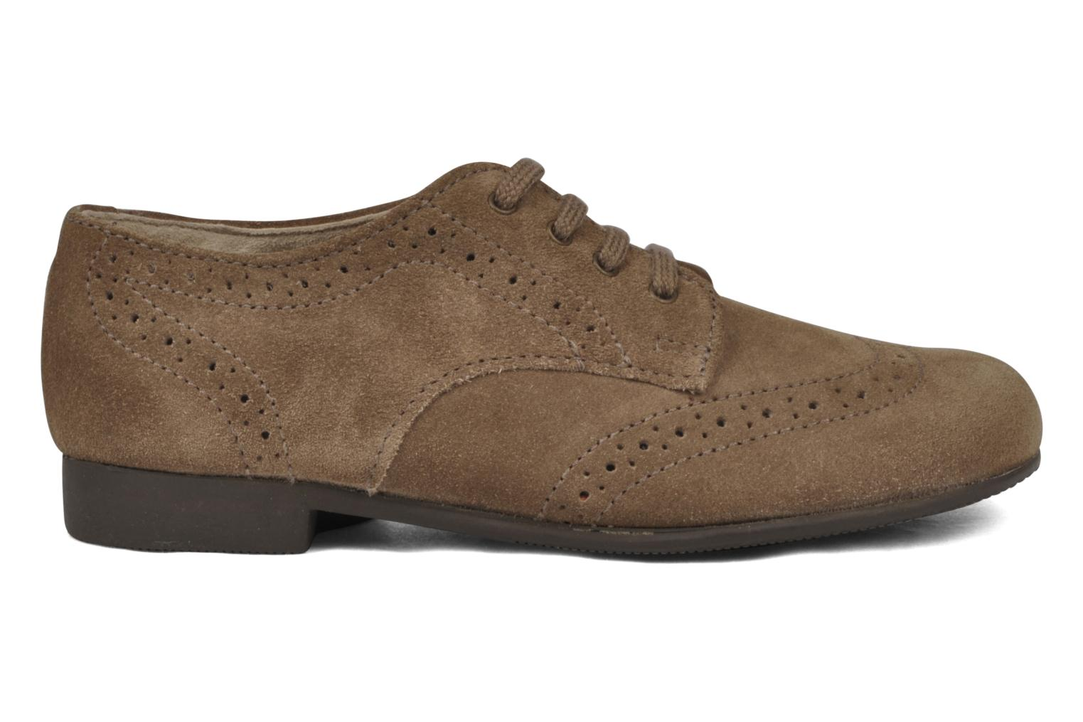 Charles Taupe Suede