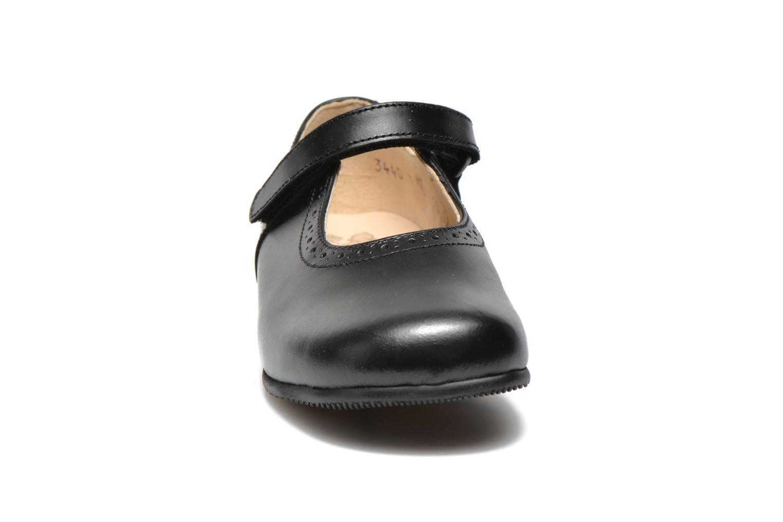 Ballerina Start Rite Delphine Svart bild av skorna på
