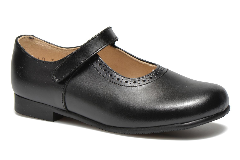 Delphine Black leather