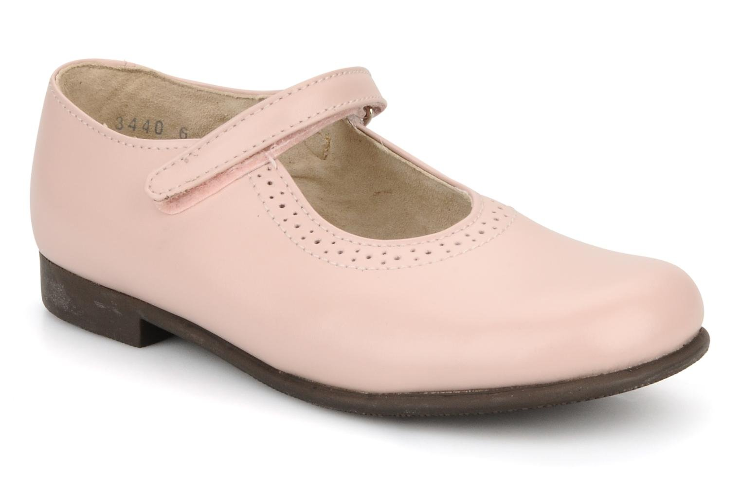 Delphine Pink Leather