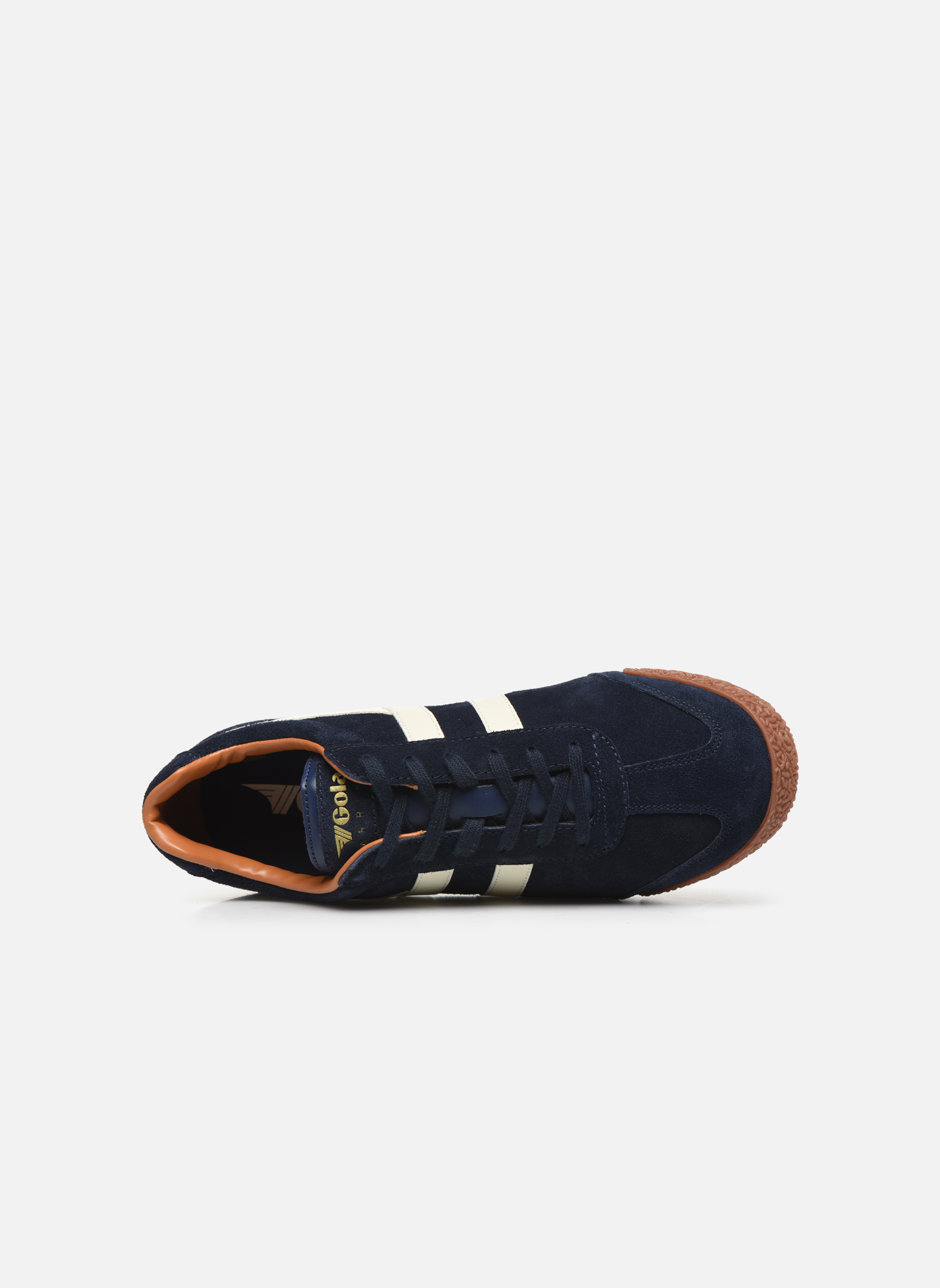 Sneakers Gola Harrier Blauw links