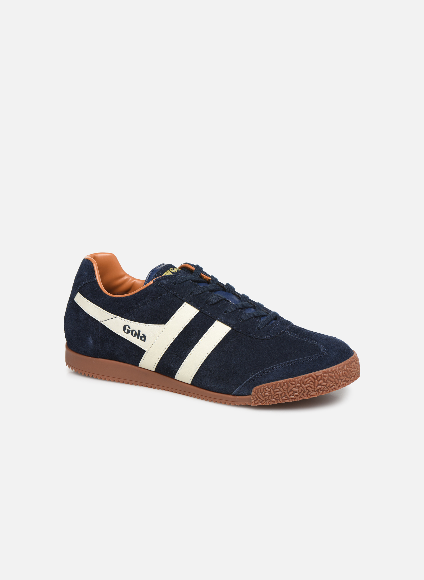 Sneakers Gola Harrier Blauw detail