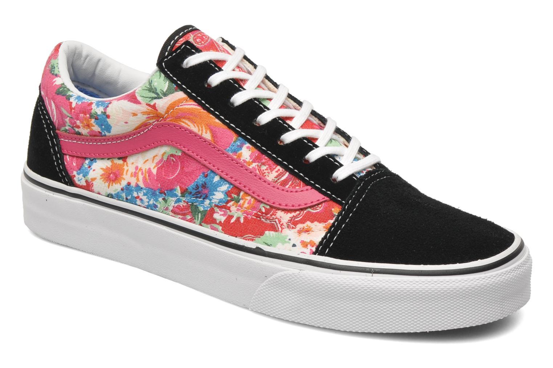 (Satin Lux) blush/true white Vans Old Skool W (Rose)