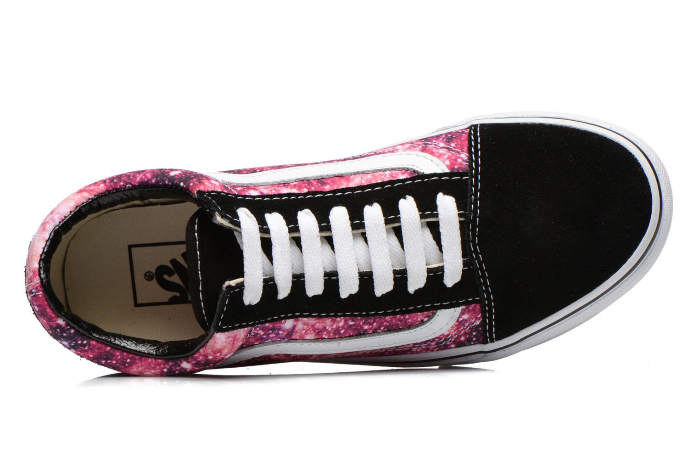 Sneaker Vans Old Skool W rot ansicht von links