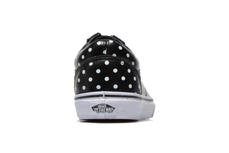 Old Skool W (Leather Polka Dots) black
