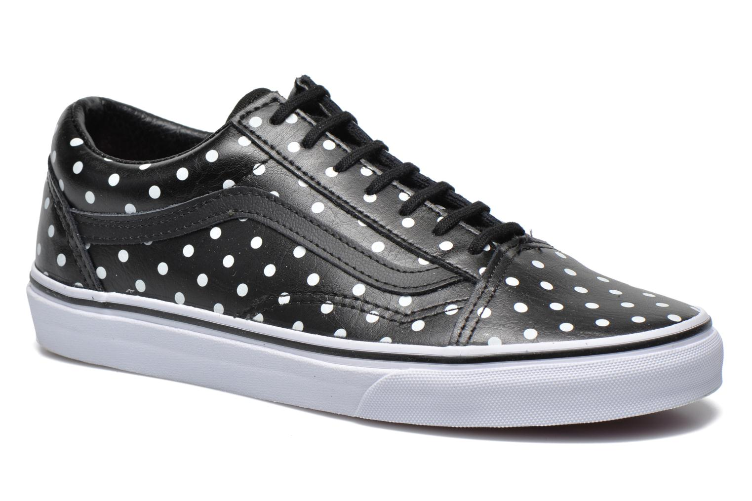 Old Skool W (Leather Polka Dots) black