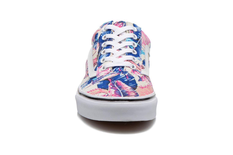 Sneaker Vans Old Skool W mehrfarbig schuhe getragen