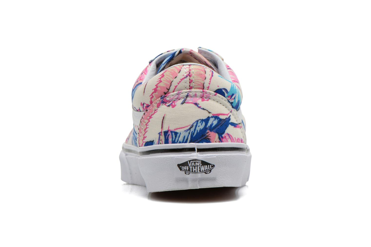 Trainers Vans Old Skool W Multicolor view from the right