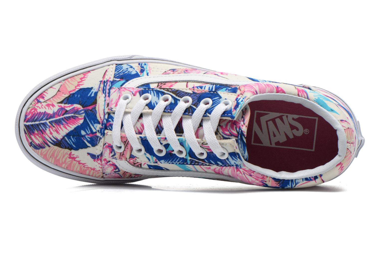 Sneaker Vans Old Skool W mehrfarbig ansicht von links
