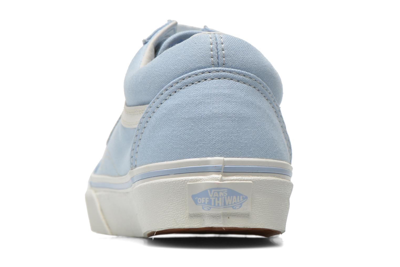 Baskets Vans Old Skool W Bleu vue droite