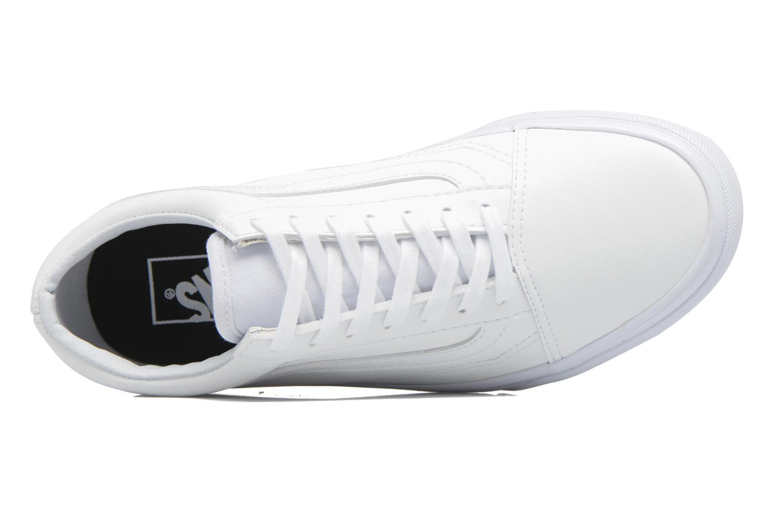 Trainers Vans Old Skool W White view from the left