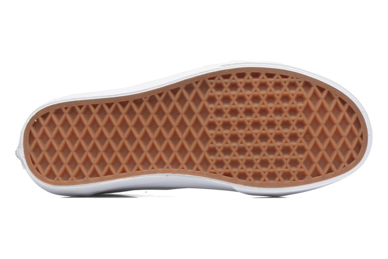 Sneaker Vans Old Skool W weiß ansicht von oben