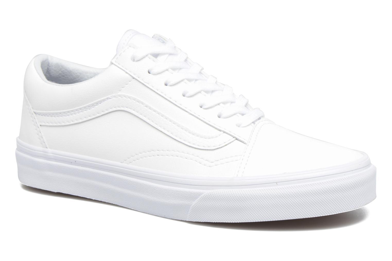 Sneakers Vans Old Skool W Hvid detaljeret billede af skoene