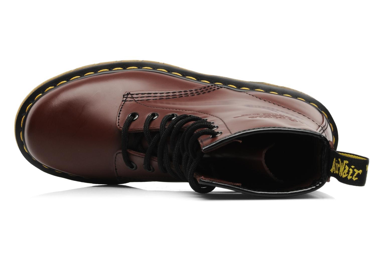 Bottines et boots Dr. Martens 1460 Smooth Rouge vue gauche