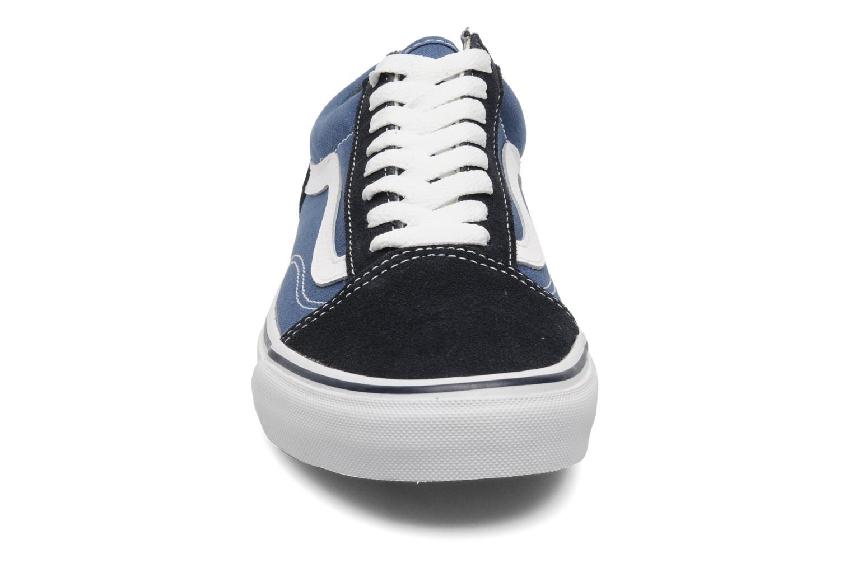 Sneakers Vans Old Skool Azzurro modello indossato
