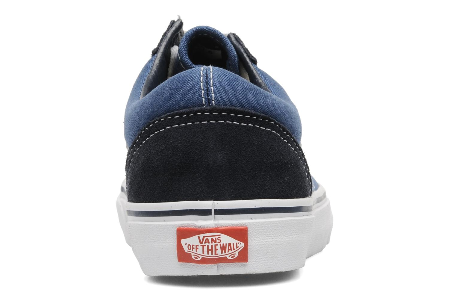 Trainers Vans Old Skool Blue view from the right