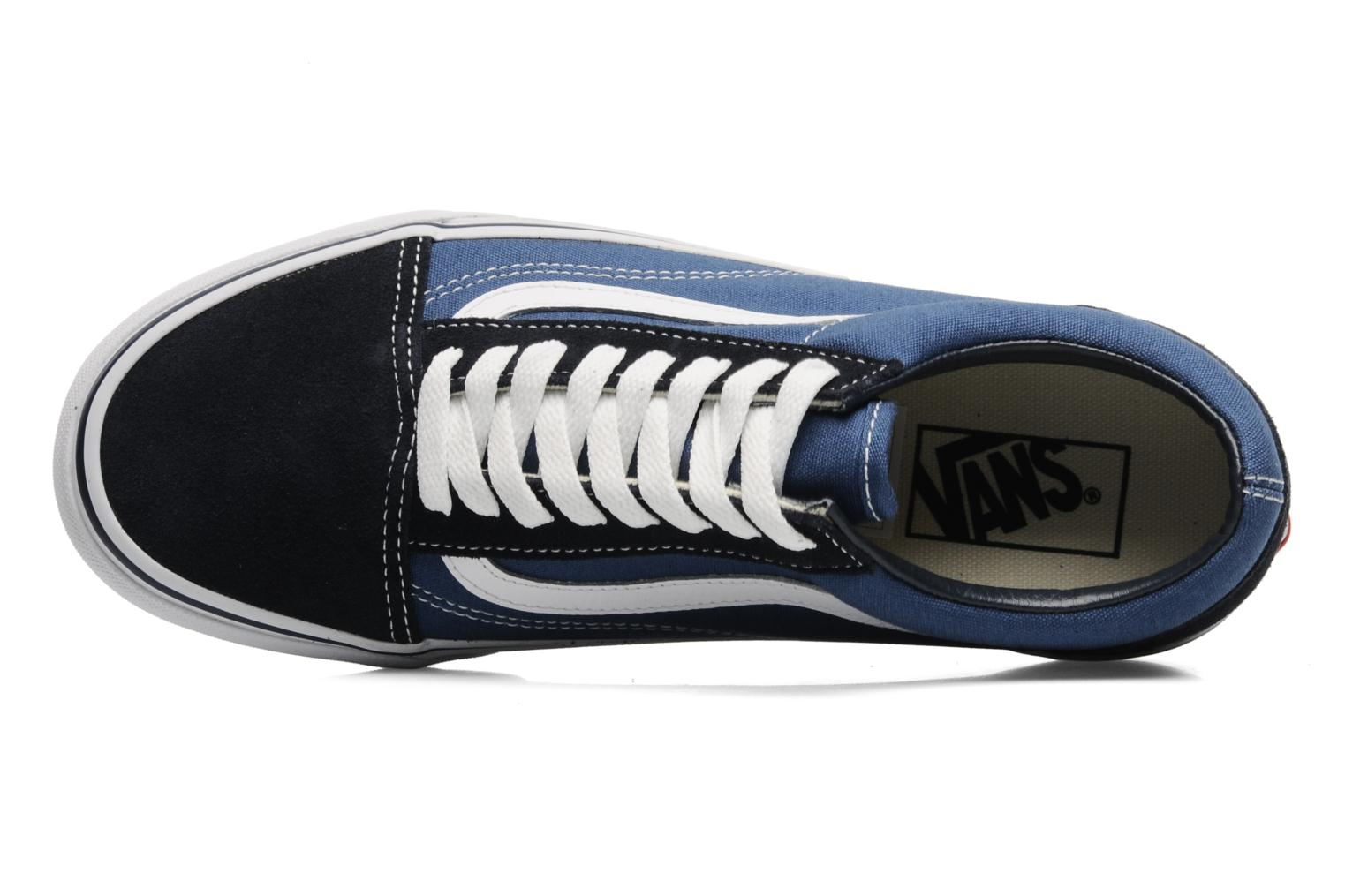 Trainers Vans Old Skool Blue view from the left