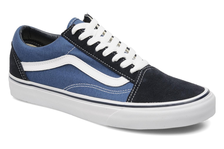 Sneakers Vans Old Skool Blå detaljerad bild på paret