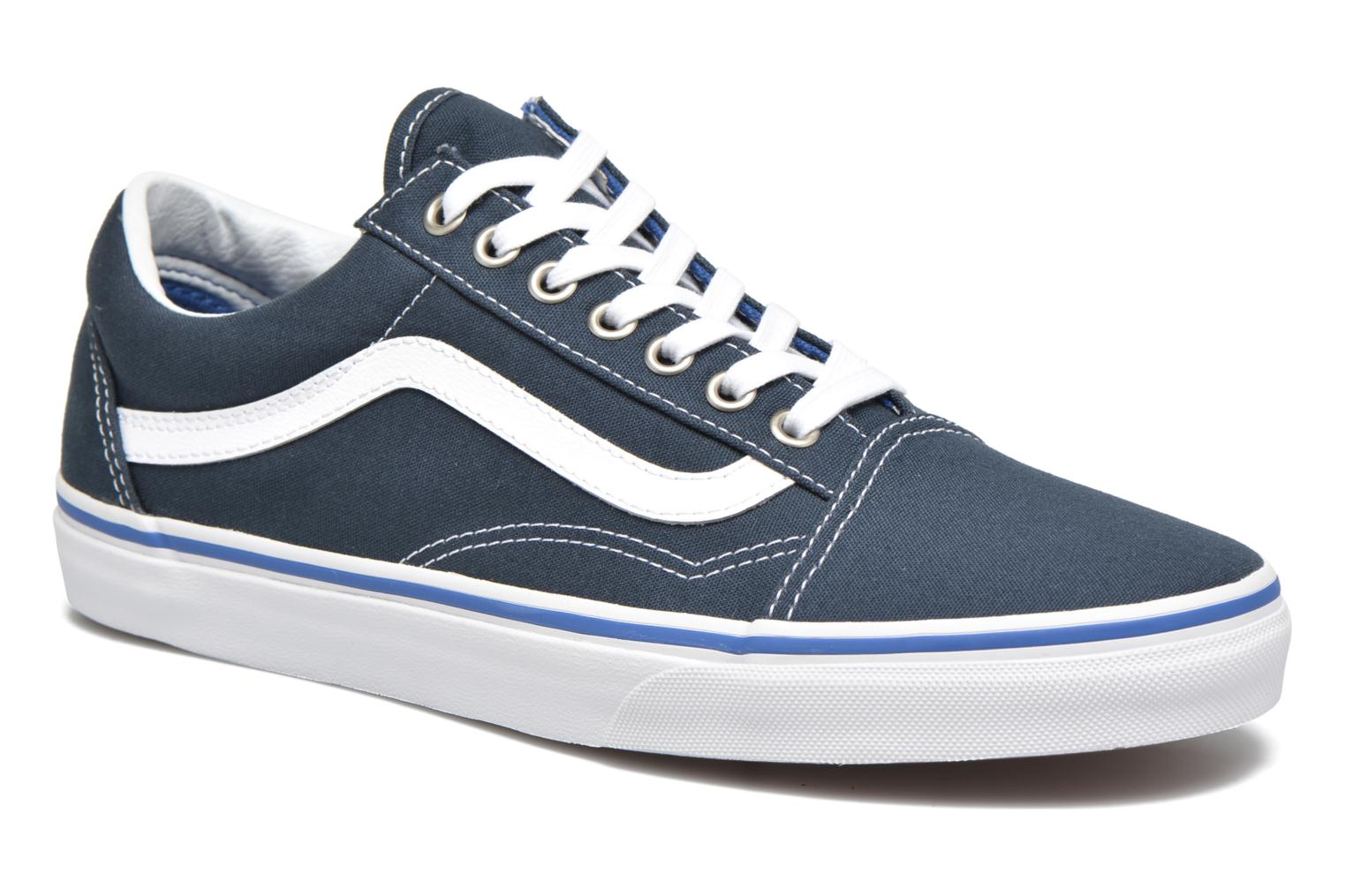 Old Skool Midnight Navy/True White