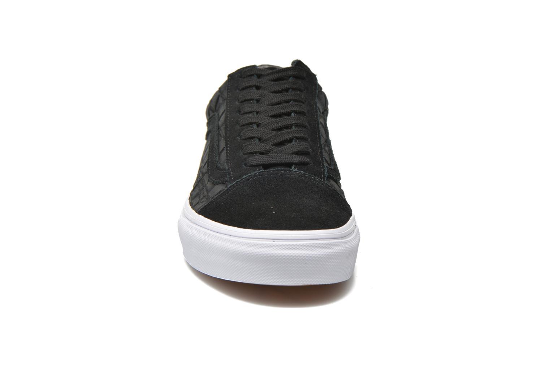 Old Skool (Suede Checkers) Black