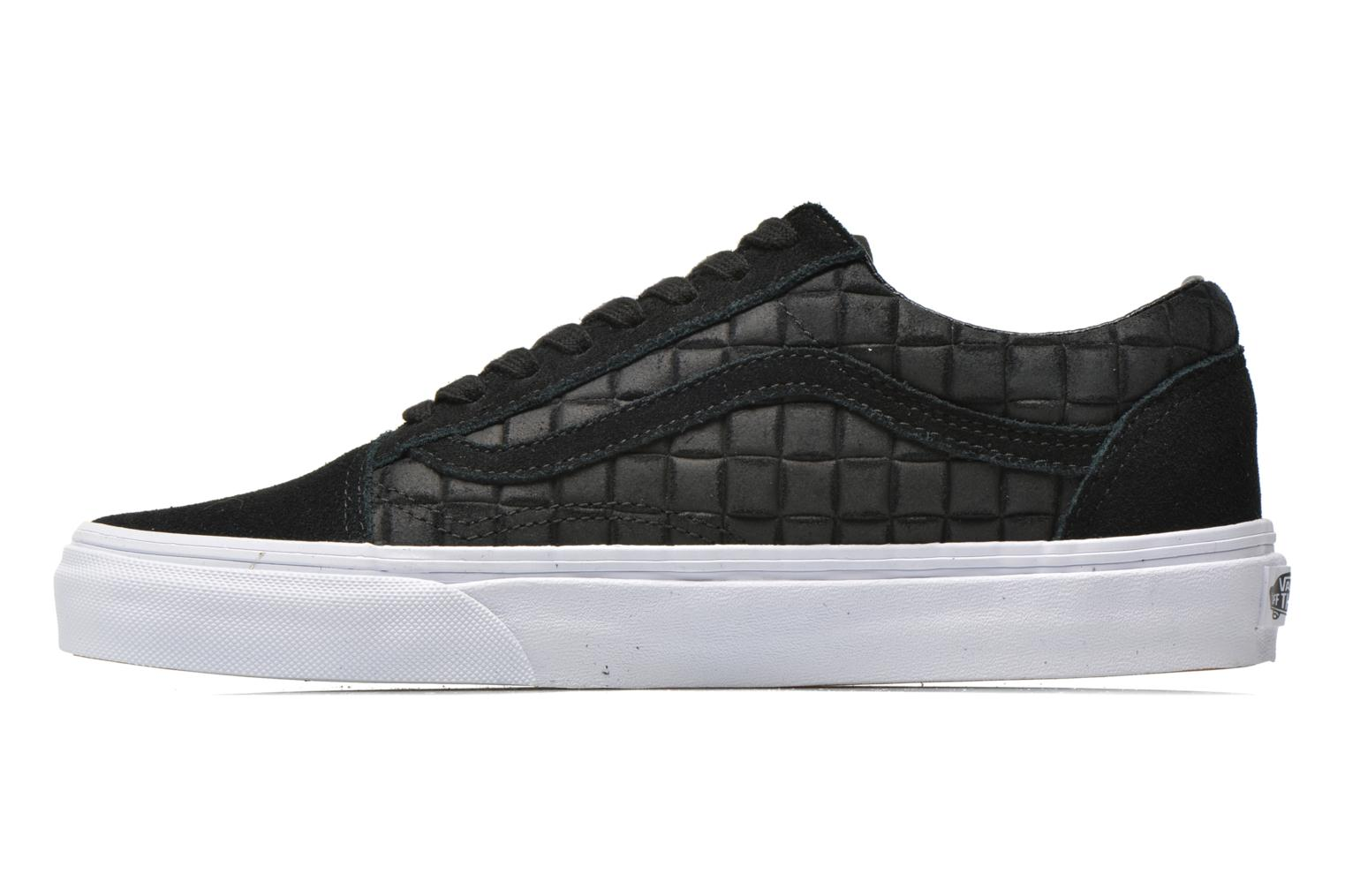 Old Skool (Suede Checkers) Black