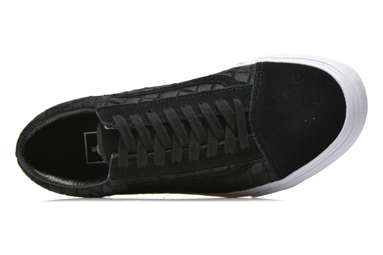 Baskets Vans Old Skool Noir vue gauche
