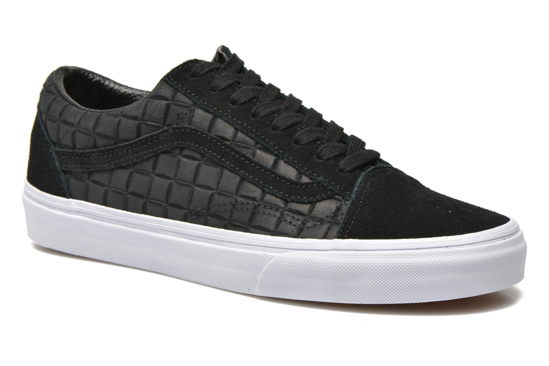 Baskets Vans Old Skool Noir vue détail/paire