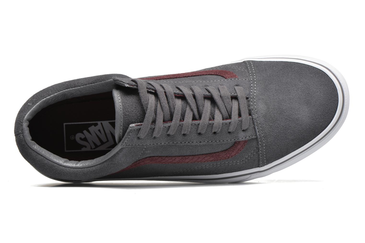 Black/Black (Canvas) Vans Old Skool (Noir)