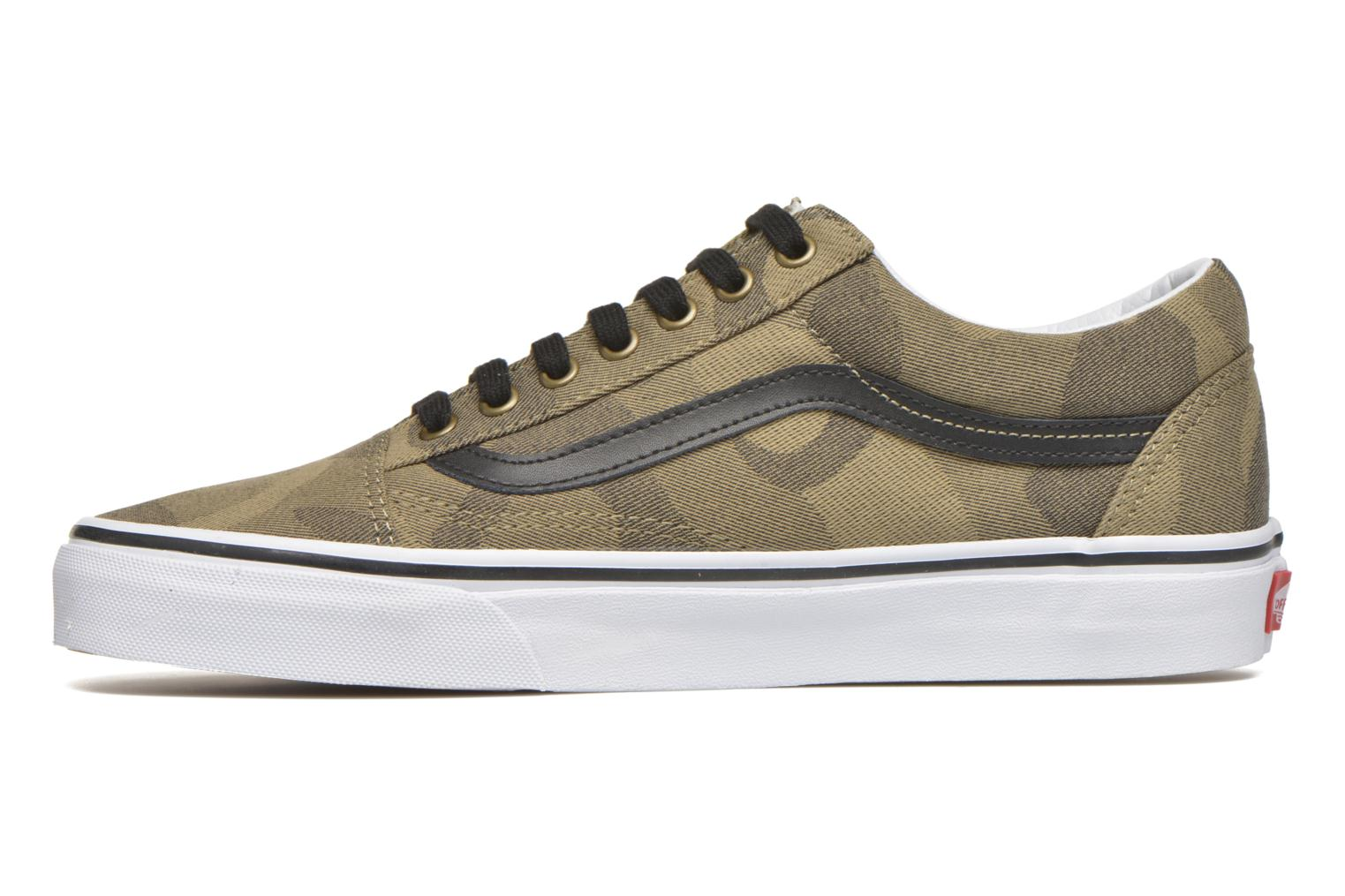 Baskets Vans Old Skool Vert vue face