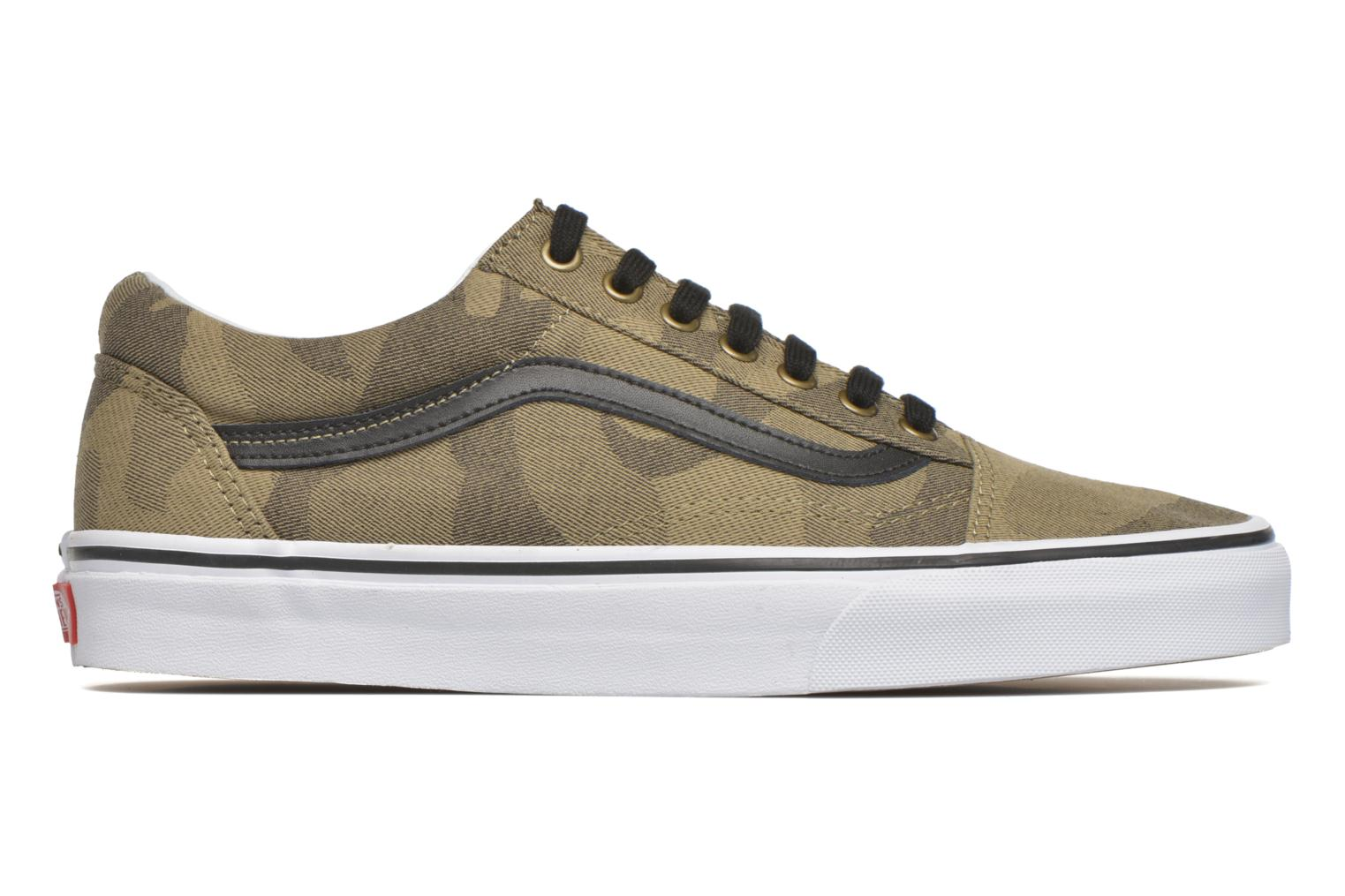 Old Skool (Camo Jacquard) Raven/True White