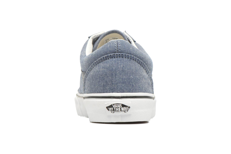 Sneaker Vans Old Skool blau ansicht von rechts