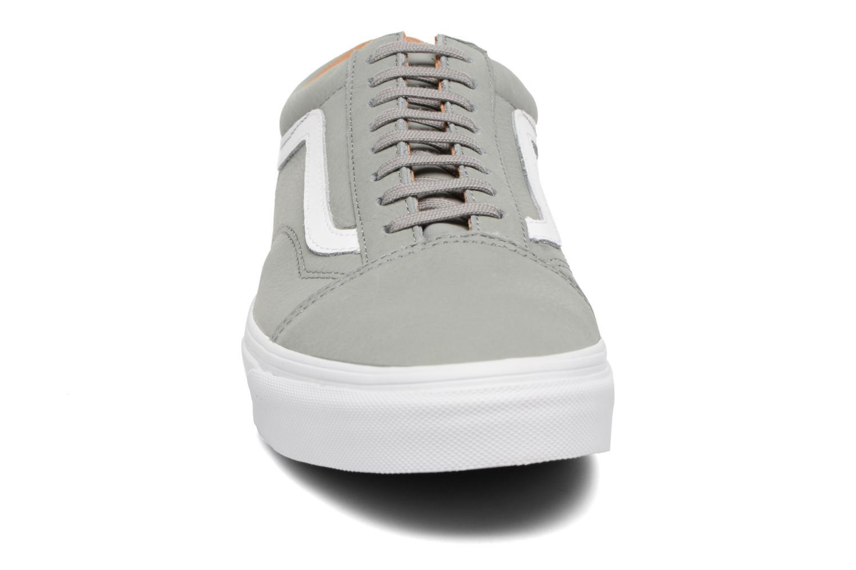 Old Skool (Premium Leather) Wild Dove/True White