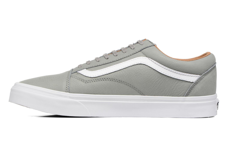 Sneaker Vans Old Skool grau ansicht von vorne